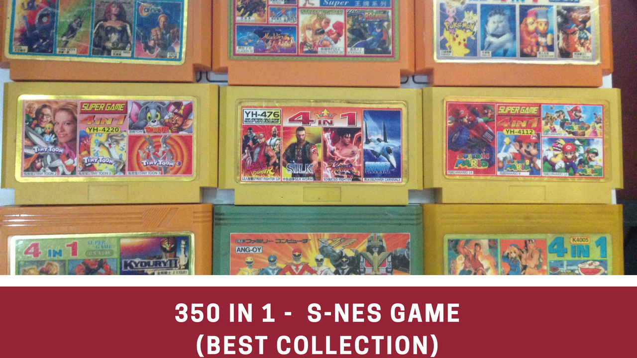 350 games SNES - Best of all time