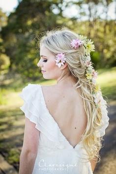 Boho bruidskapsels