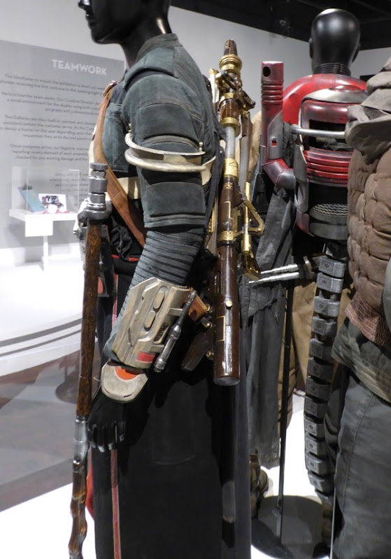 Chirrut Imwe Rogue One film costume detail