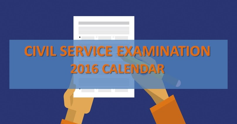 Civil Service Exam Dates