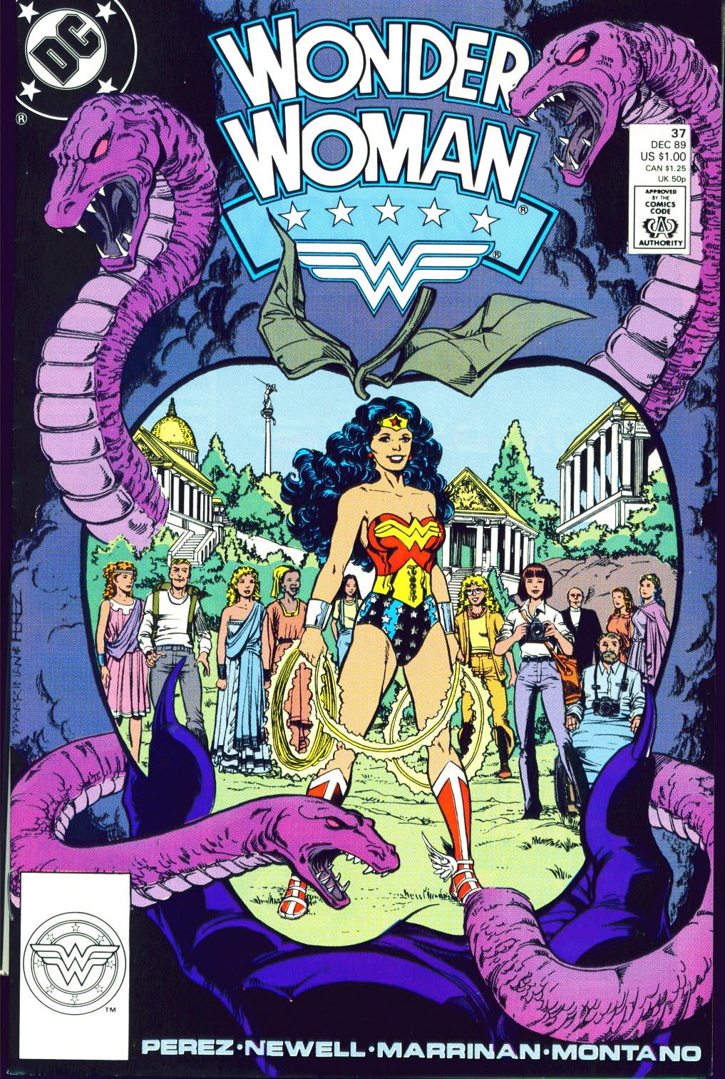 Read online Wonder Woman (1987) comic -  Issue #37 - 2