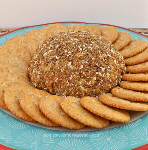 Dairy Free Cheese Ball - Home Sweet Homestead