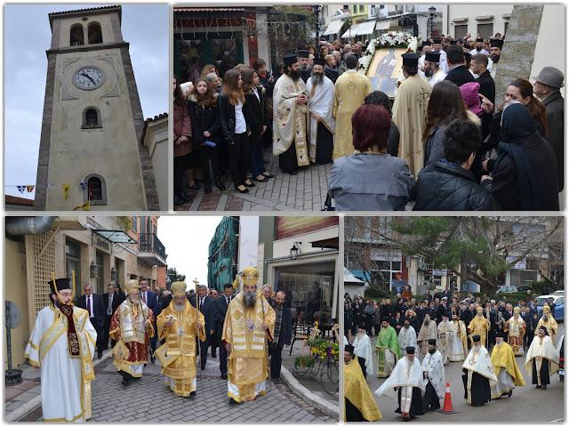 Κορυφώθηκαν οι εκδηλώσεις για τον πολιούχο Πρέβεζας Άγιο Χαράλαμπο