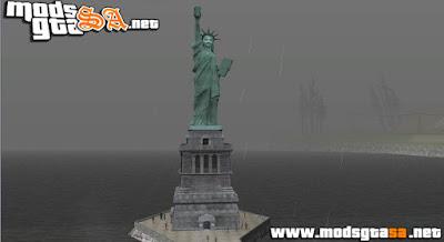 Estátua da Libertade do GTA IV para GTA SA