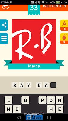 Iconica Italia Pop Logo Quiz soluzione pacchetto 4 livelli 33-75