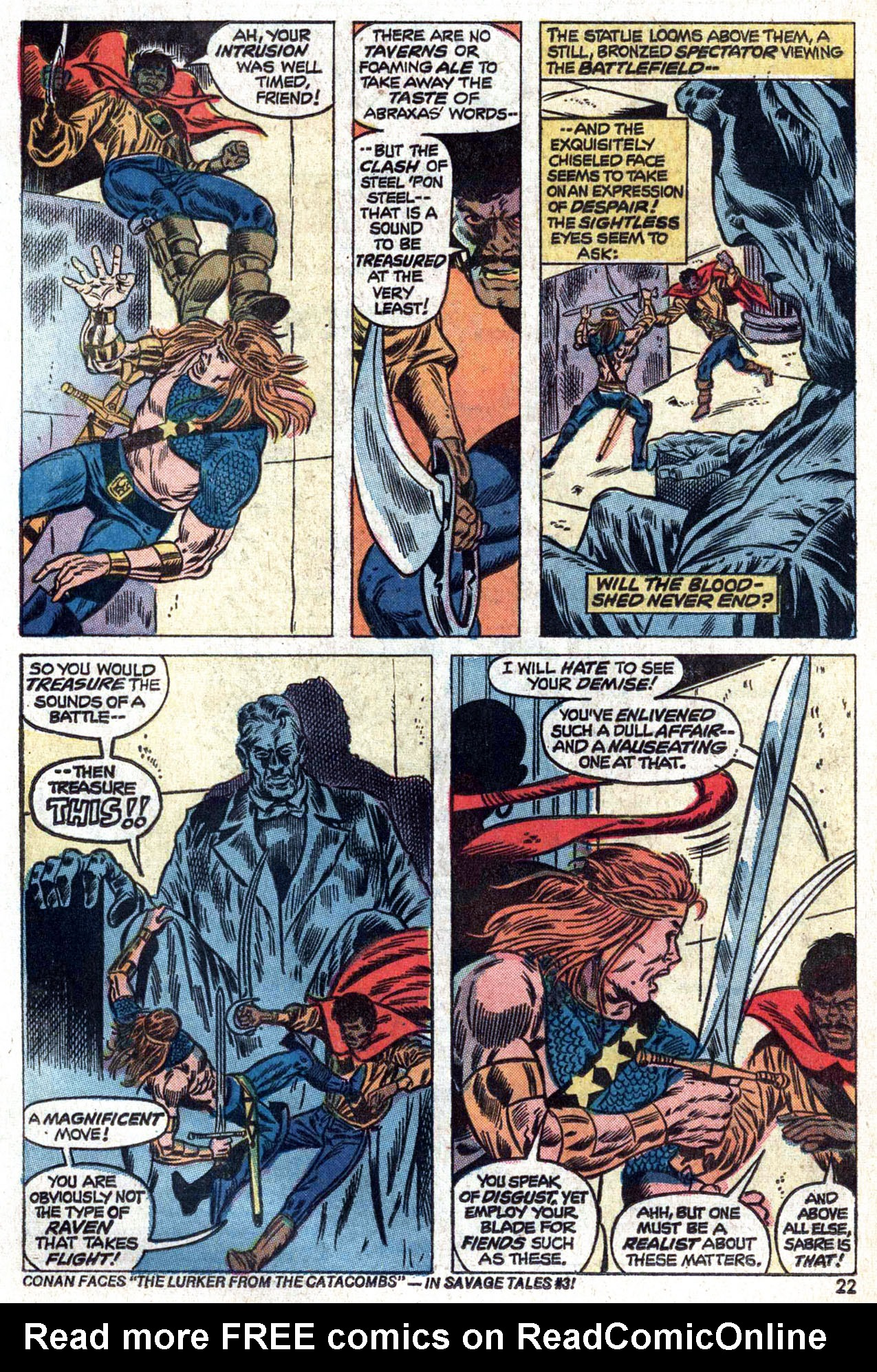 Read online Amazing Adventures (1970) comic -  Issue #22 - 22