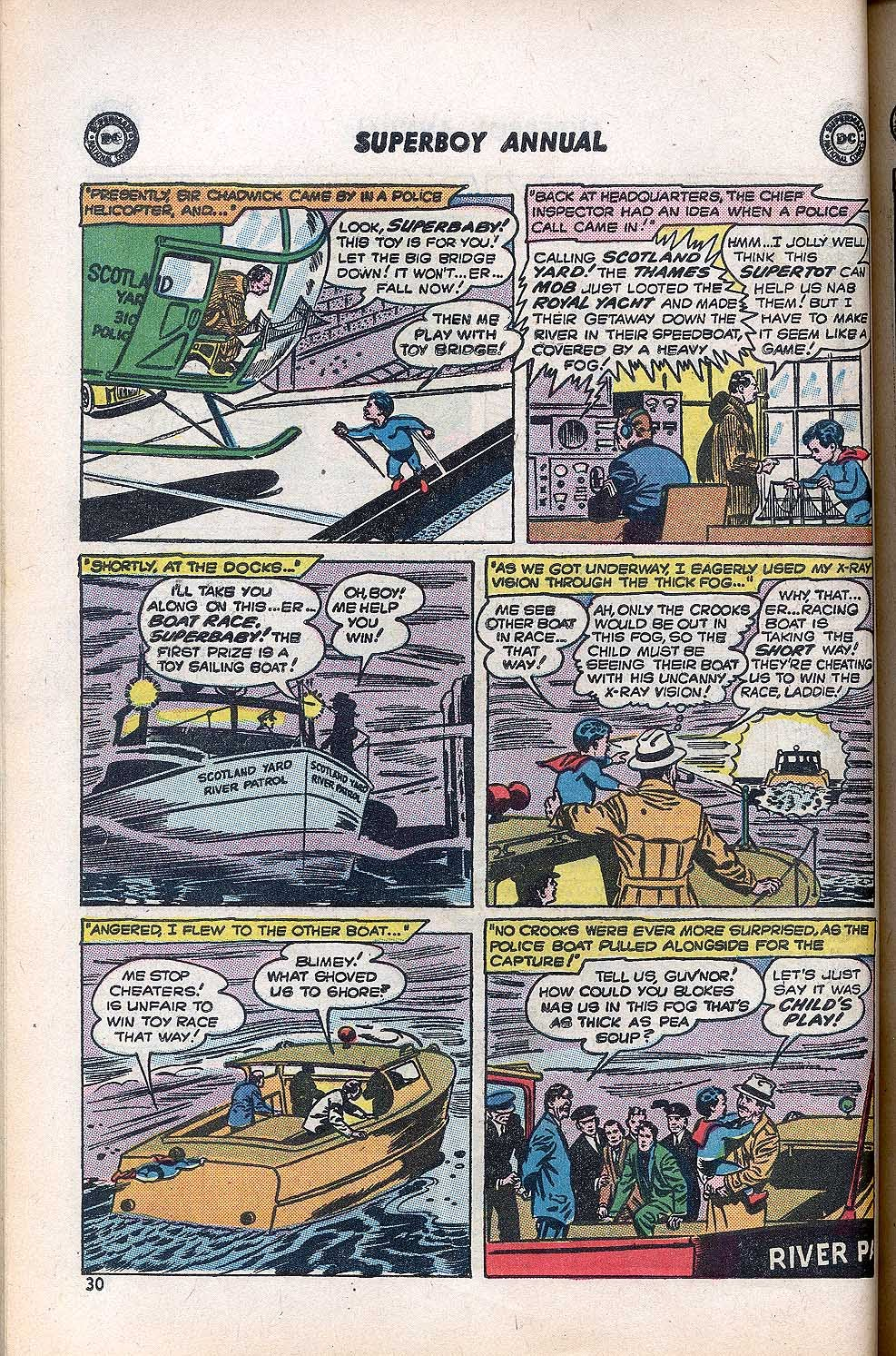 Superboy (1949) issue Annual 1 - Page 32
