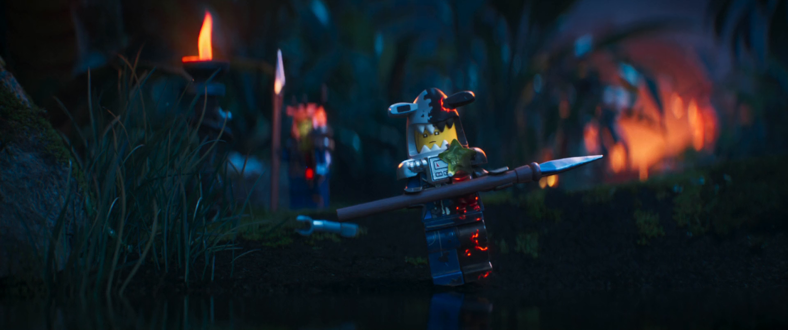 Lego Ninjago: La película (2017) BRRip 1080p Latino - Ingles captura 3
