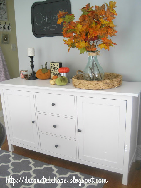 decorated chaos new ikea hemnes sideboard. Black Bedroom Furniture Sets. Home Design Ideas