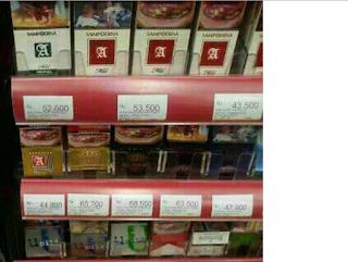Image result for wacana kenaikan harga rokok