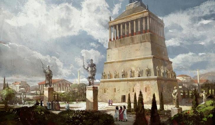 Mausoleum Halicarnassus, Makam Terindah di Dunia