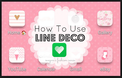 aplikasi line deco
