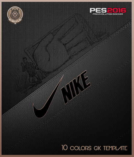 PES 2016 NIKE GK Template Kits by G-Style