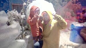 Wisata snow world international Bekasi