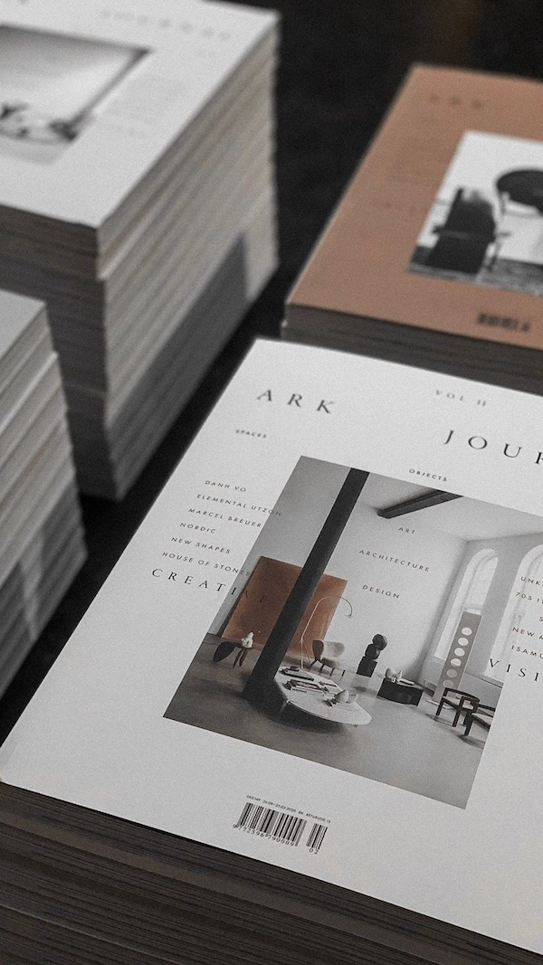 Launch of Ark Journal volume II & A selected by for Frama