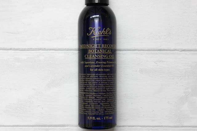 A review of the Kiehl's Midnight Recovery Botanical Cleansing Oil