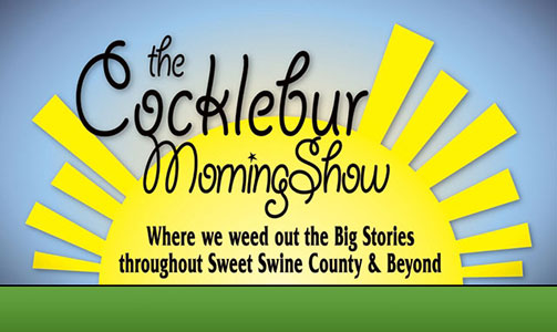 Why is this morning show #1 in Sweet Swine County?