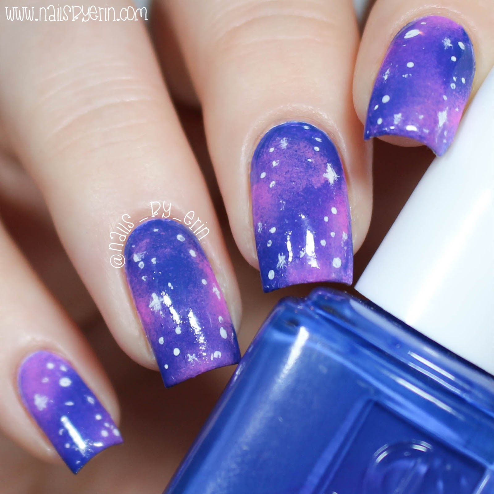 NailsByErin: Galaxy Nails | Living Royal Socks