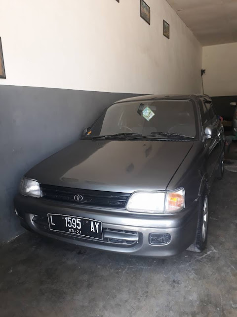 Toyota Starlet tahun 1994 bekas