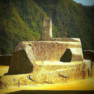 """Intihuatana de Machu Picchu - """"Onde o Sol se Prende"""""""