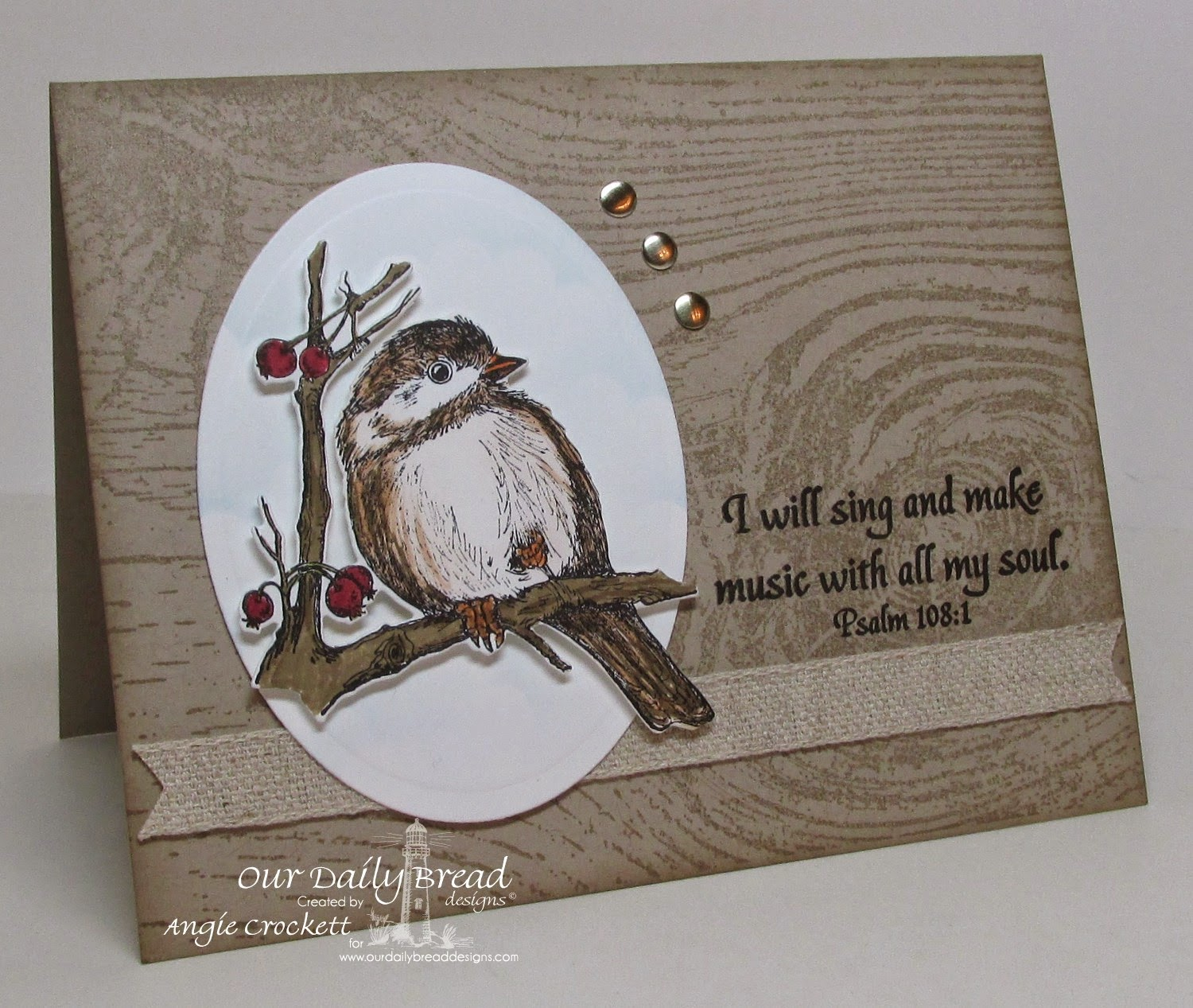 ODBD You Will Find Refuge, Card Designer Angie Crockett