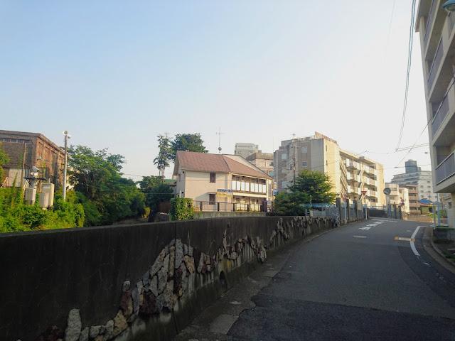 善福寺川と神田川が合流する地点