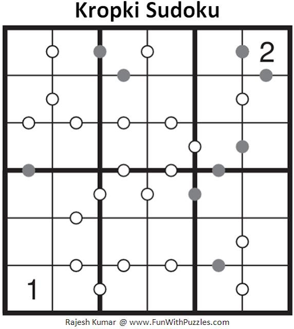 Kropki Sudoku (Mini Sudoku Series #55)