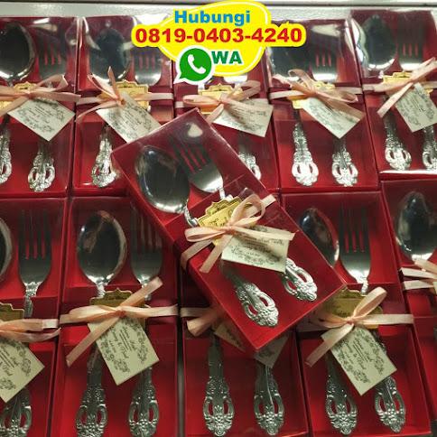 souvenir sendok garpu untuk pernikahan 53797