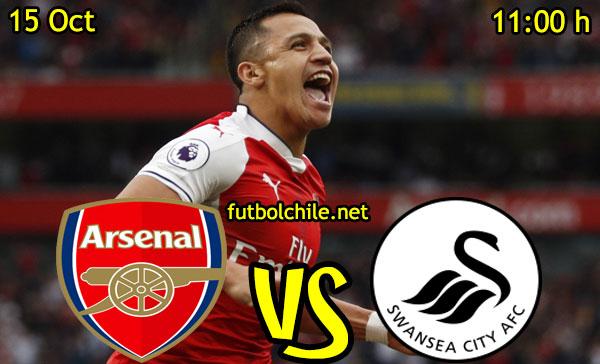 Ver stream hd youtube facebook movil android ios iphone table ipad windows mac linux resultado en vivo, online:  Arsenal vs Swansea City