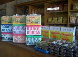 Dodol Bengkel, Soft Sticky Glutinous Rice Candy