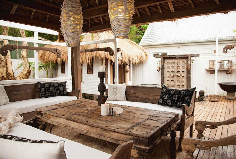 Arredamento Etnico Chic : Casa vacanze australiana in stile etnico chic dettagli home decor