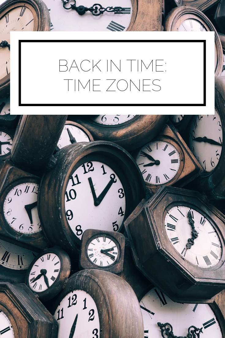 Click to read now or pin to save for later! Have you ever wondered how we started to measure time? And how people deal with living in one time zone and working in another? The answers are all in this back in time post!