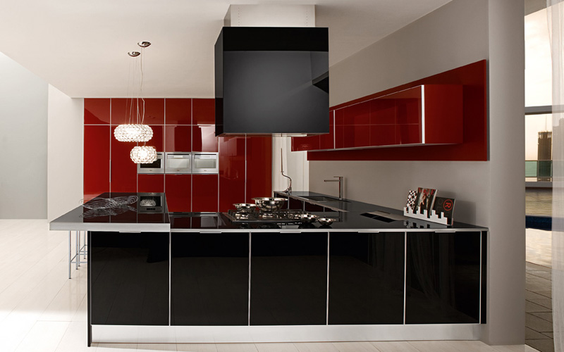 Lovely Modern Kitchen Design 2013 Modren Kitchen Design Ideas For 2013 Lighting  Decorating With Amazing Part 20