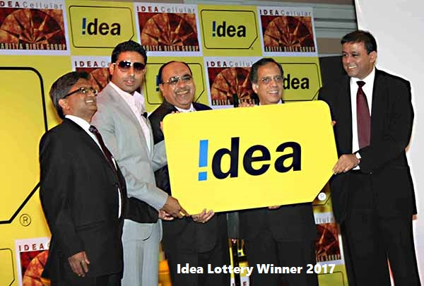 Idea Lottery Winner 2018