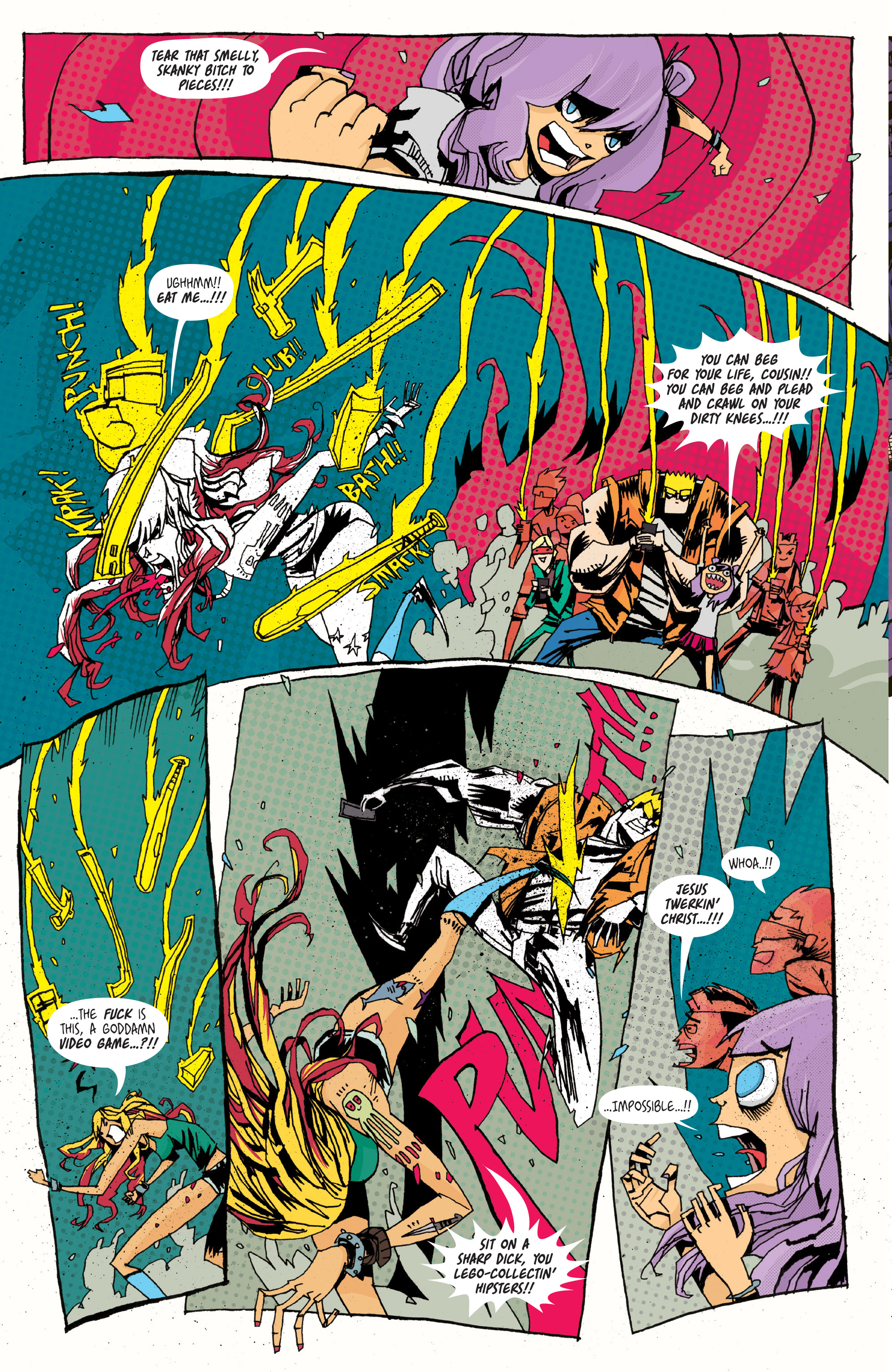 Read online Grrl Scouts: Magic Socks comic -  Issue #2 - 18