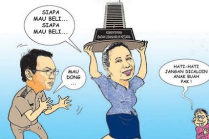 Setelah Teken Surat Penjualan Aset Pertamina, Menteri BUMN Mendadak Lupa