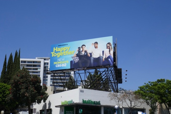Happy Together season 1 billboard