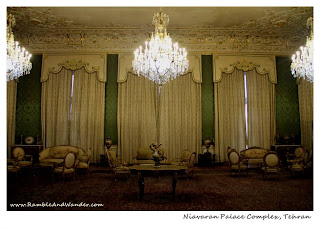 Iran: Remembering the Shah at Niavaran Palace Complex - Ramble and Wander
