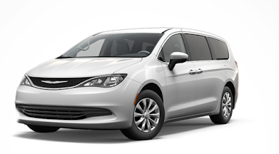 new 2017 Chrysler Pacifica exterior image