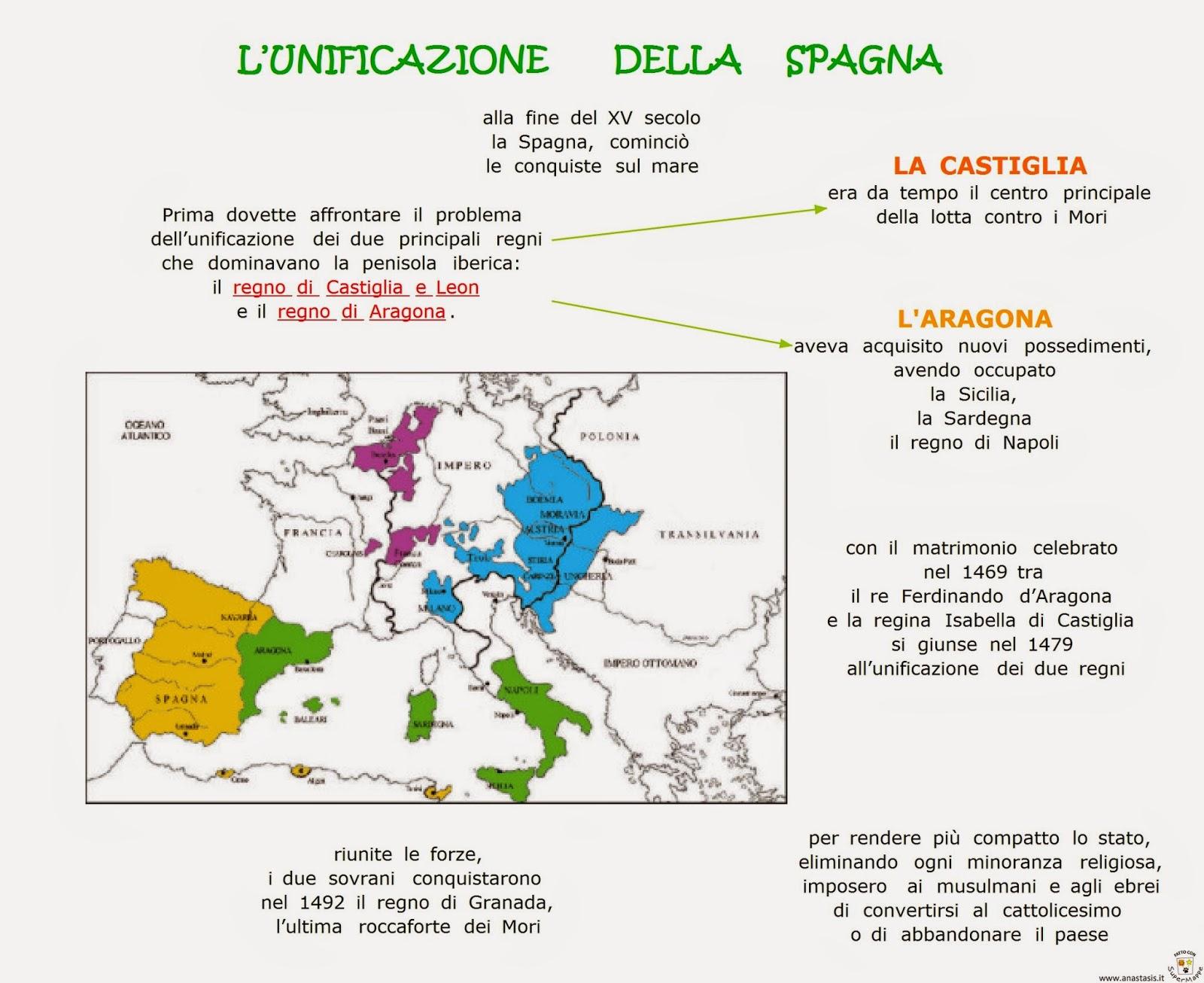 Cartina Tematica Spagna.123scuola Com Ii Media Unita 2 Xv Sec Cristoforo Colombo E La Scoperta Dell America