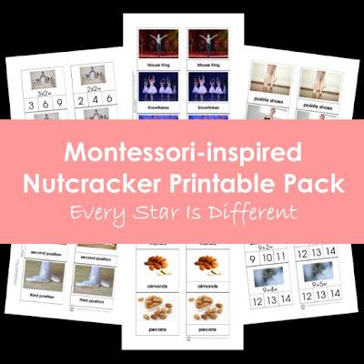 Montessori-inspired Nutcracker Printable Pack