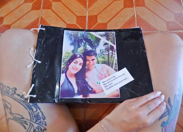 DIY: Álbum de Aniversário de Namoro