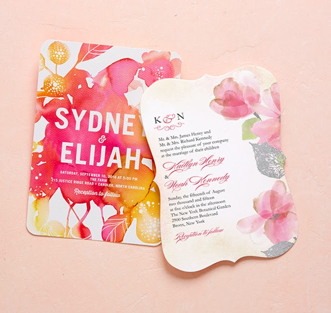 Spring into style with wedding paper divas 2014 collection and we would wouldnt be talking about wedding paper divas without a style for each and every one of our bride grooms for the fun and energetic couple junglespirit Choice Image