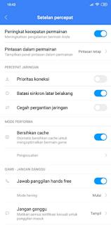 Cara Mempercepat kinerja HP Xiaomi Saat Bermain Game