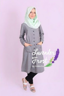 Model baju muslim tunik fashionable