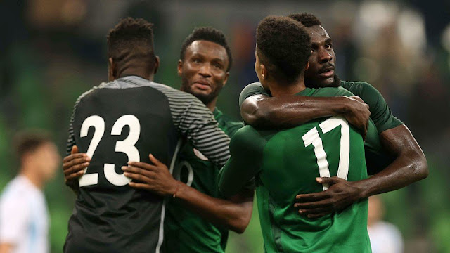 Super Eagles are the youngest team going to World Cup 2018