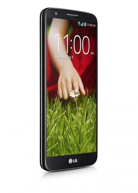 LG shows its G2 Android smartphone 4.2.2