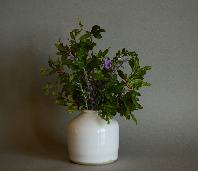 monday vase meme, small sunny garden, amy myers ceramics