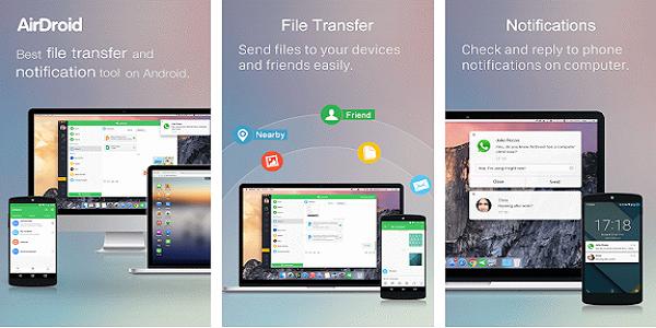 Aplikasi AirDroid : Remote Access & File
