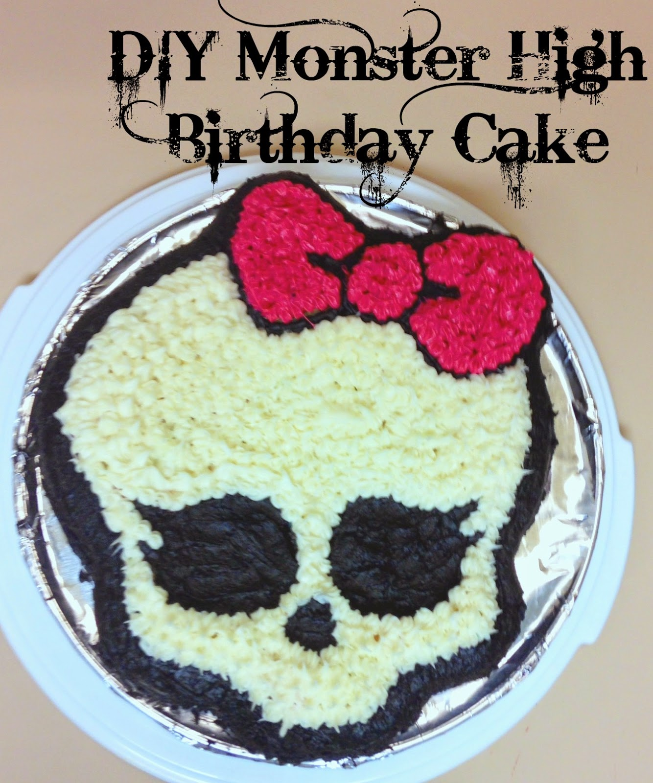 Wondrous Diy Monster High Birthday Cake Outnumbered 3 To 1 Funny Birthday Cards Online Inifofree Goldxyz